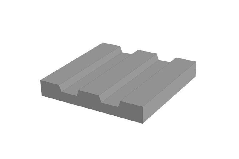 Перекрывающие блоки и тротуарные плиты