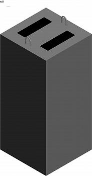 Фундамент железобетонный