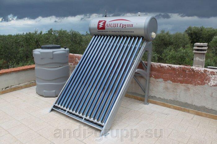 Солнечный коллектор в Италии