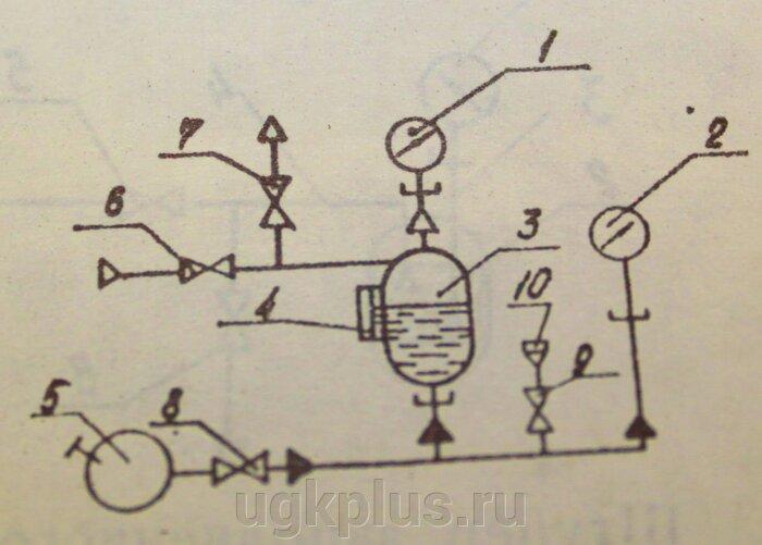 Схема разделительного устройства: