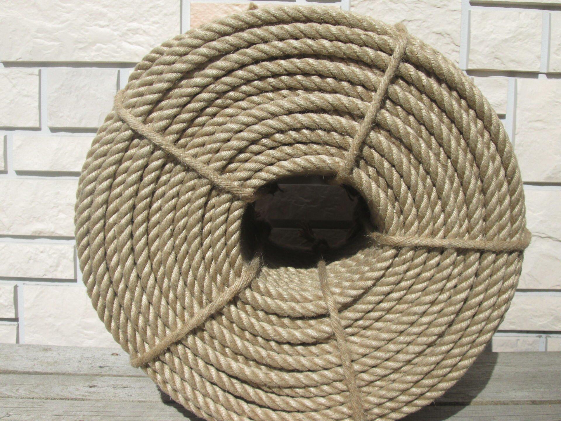 Джутовый канат для швов сруба д.12 мм