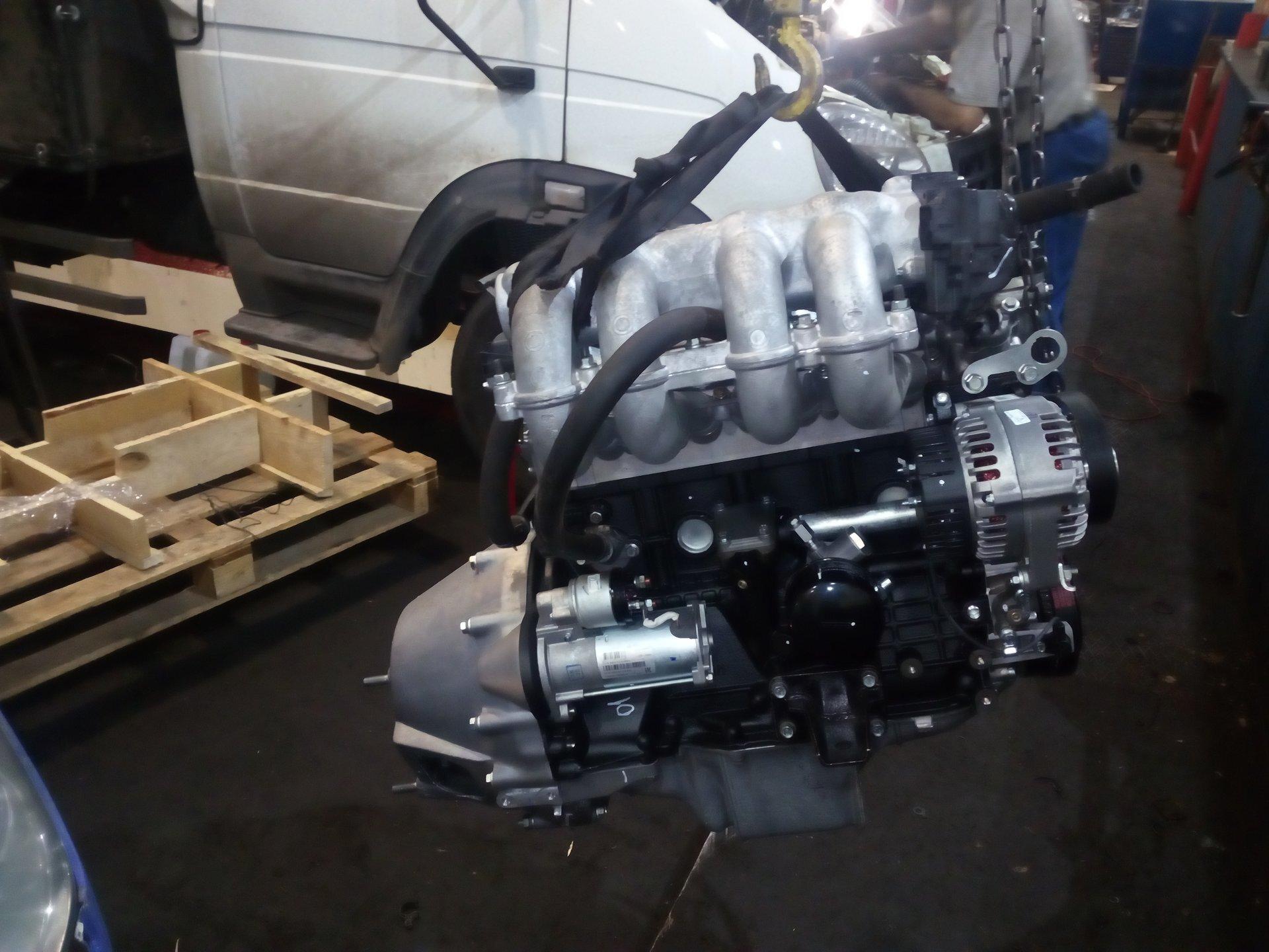 установка двигателей