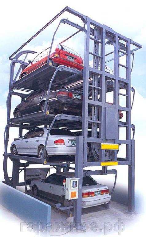 Механизированные паркинги для автомобилей