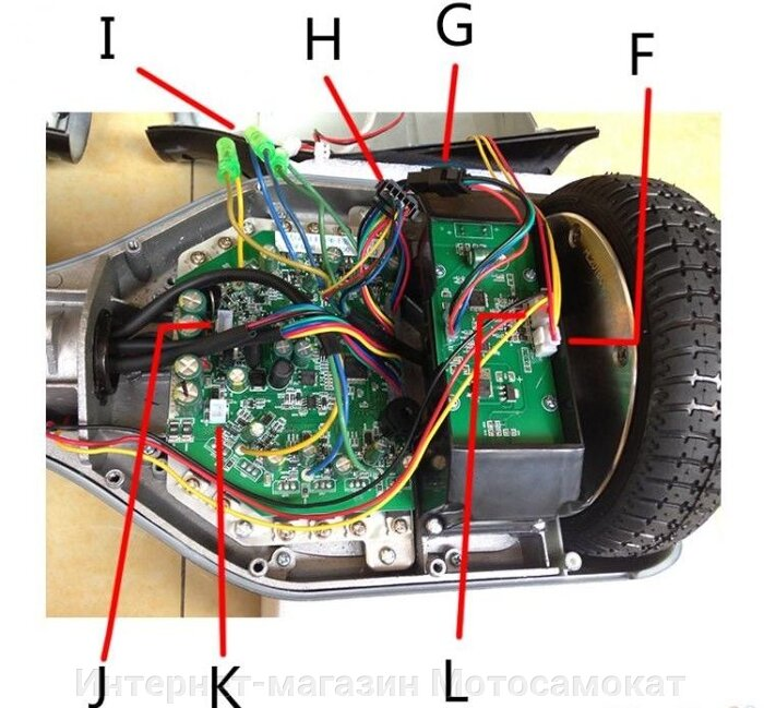 Hoverboard or mini-seagway controller