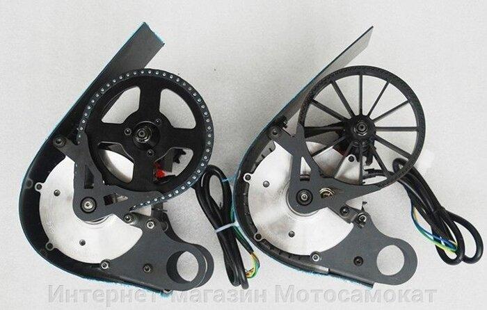 Цепной веломотор Циклоп-3, лучший вариант для электрического велосипеда