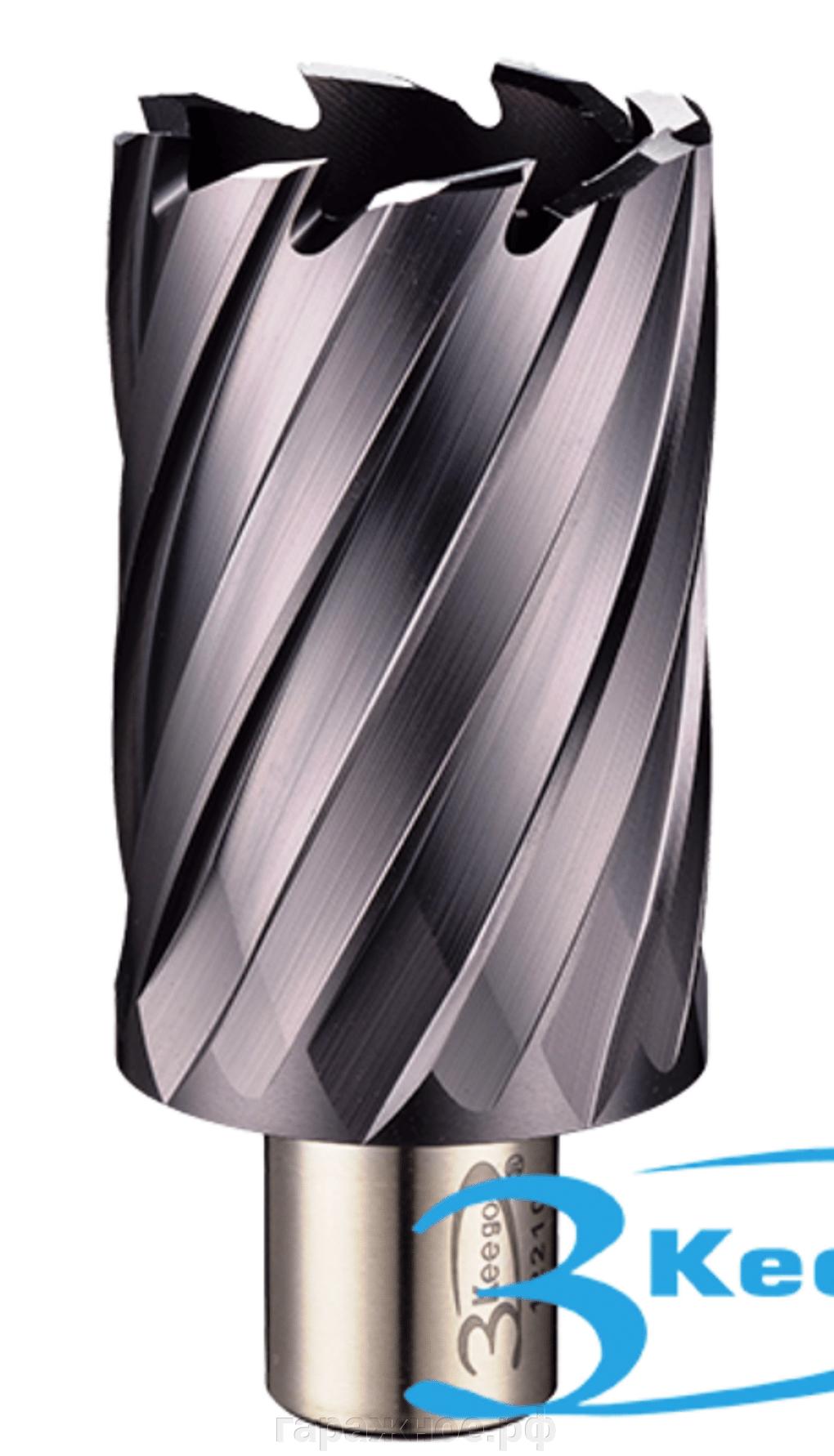 Кольцевая фреза по металлу (корончатое сверло из быстрорежущей стали)