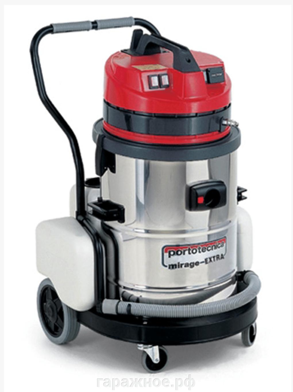 Пылесосы моющие для химчистки, парогенераторы - фото Пылесос моющий для химчистки Portotecnica PLUS 1 W 2 60 S GA MIRAGE EXTRA MAX