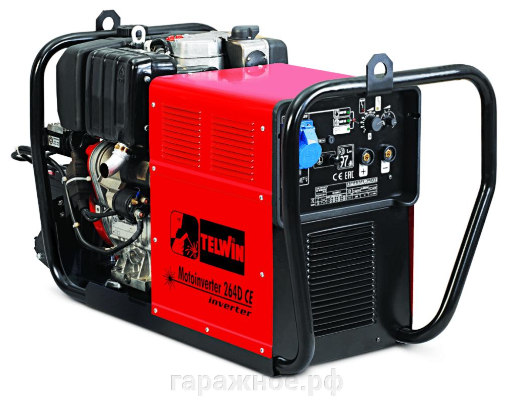 Сварочный генератор Telwin Motoinverter 264D CE