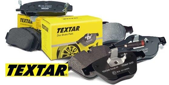 Тормозные колодки TEXTAR - фото Тормозные колодки TEXTAR