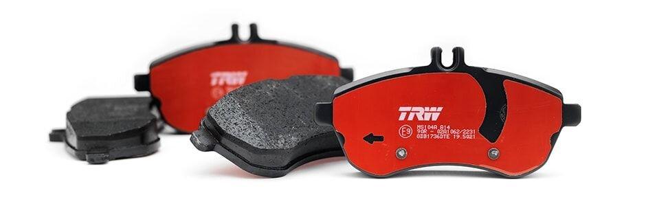 Тормозные колодки TRW - фото Тормозные колодки TRW