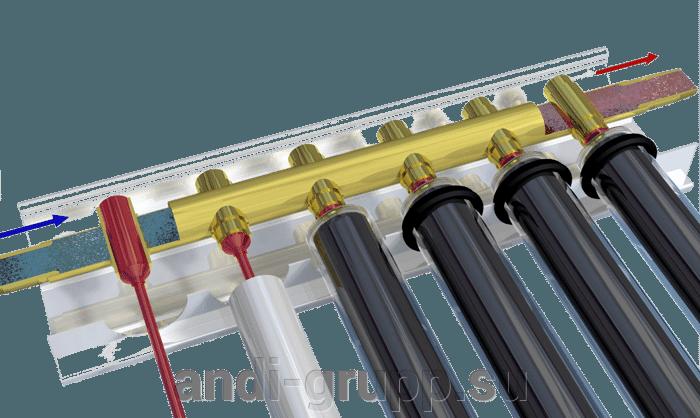 Солнечная сплит-система класс «Стандарт» - фото вакуумная трубка Heat pipe
