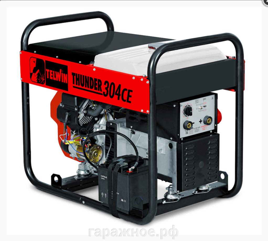 Сварочный генератор Telwin Thunder 304 CE