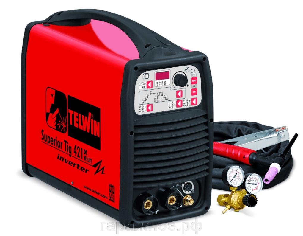 Сварочный аппарат Telwin Superior Tig 421 DC