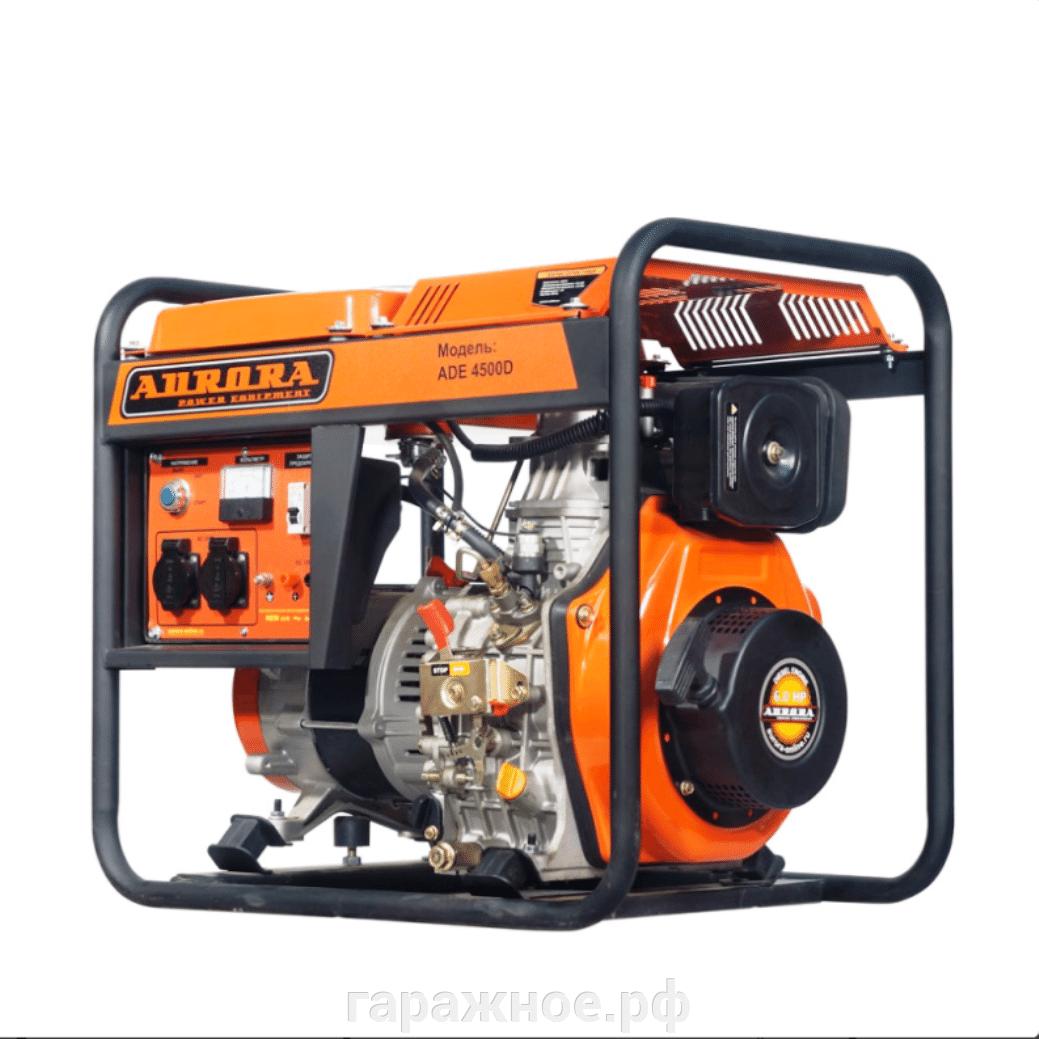 Дизельный генератор - фото Дизель генератор ADE 4500 D