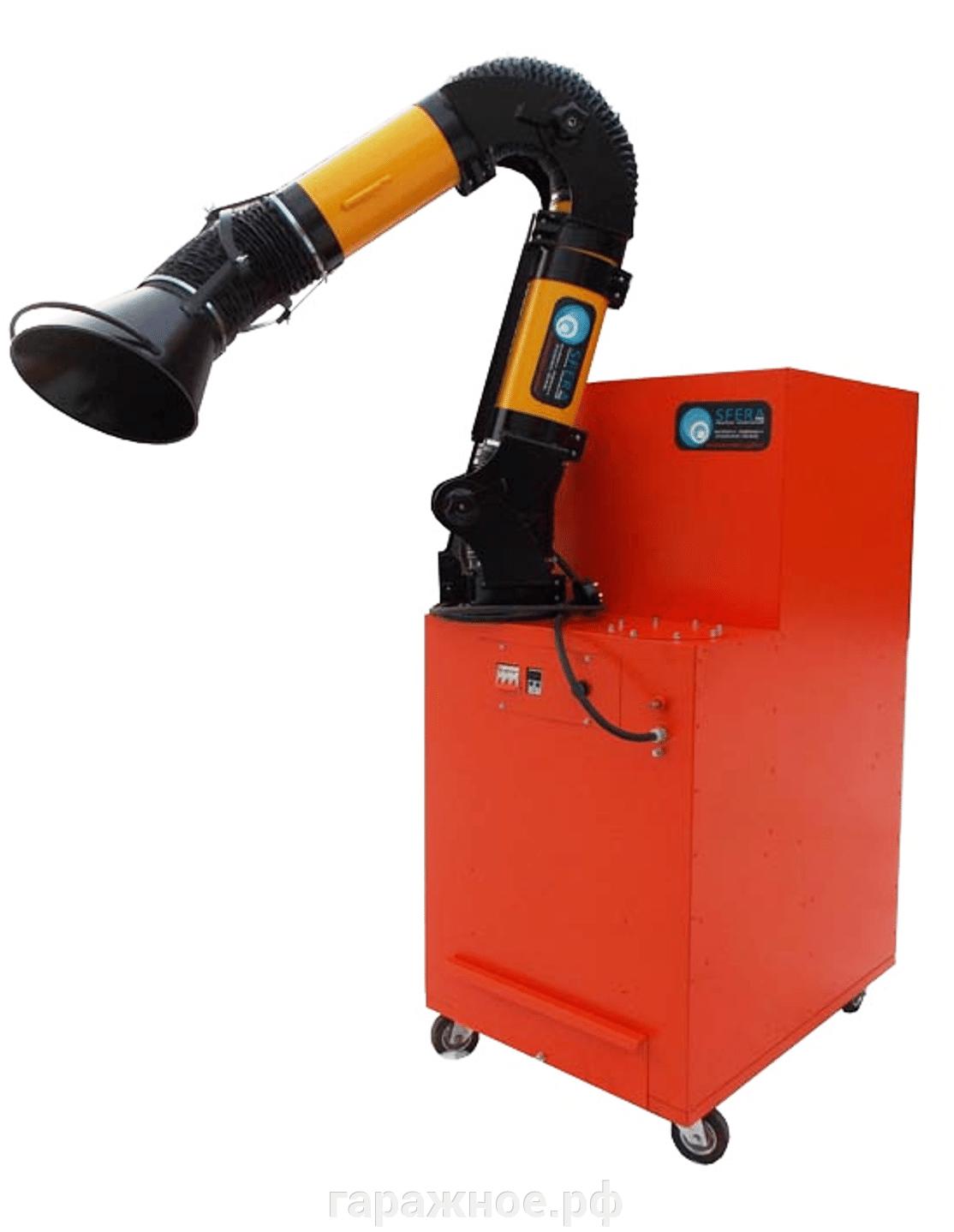 Удаление газов, пыли - фото Фильтровентиляционная установка ФВУ-1Р,