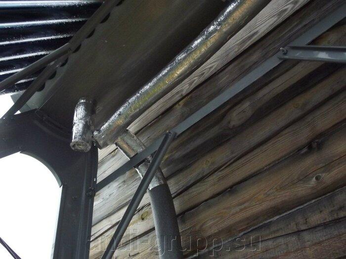 Изоляция трубопроводов водонагревателя