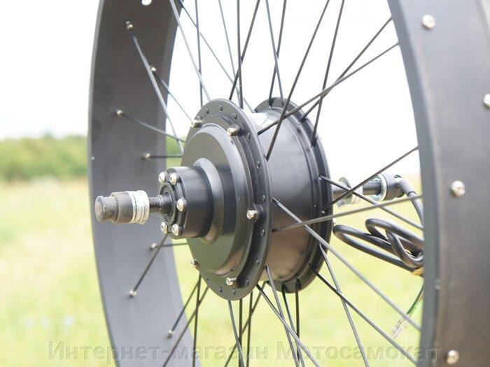 Мотор-колесо 500 Вт для Fatbike, заднее, комплект с аккумуляторной батареей на 48вольт 12 ампер*часов.