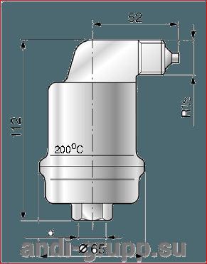 Spirotop Solar - Автоматический неблокируемый воздухотводчик