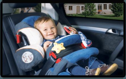 Сетки / шторки на стекла автомобиля - фото 5
