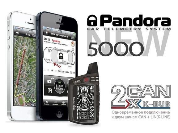 Постоянный контроль автосигнализация Pandora / Пандора