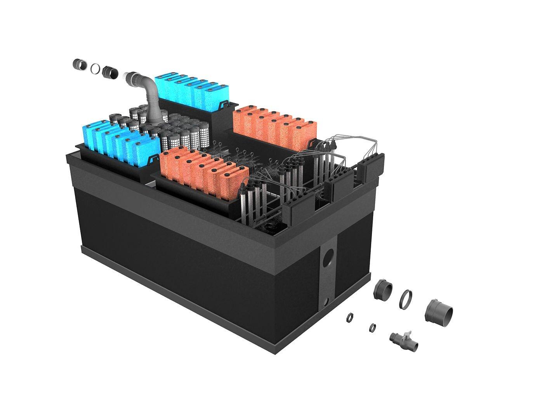 Схема фильтр для пруда BIO 190 Pondtech