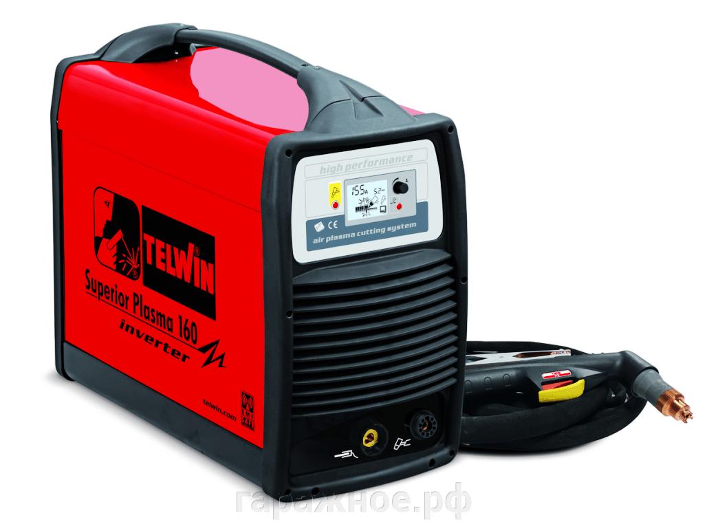 Воздушно-плазменная резка (CUT) - фото Аппарат плазменной резки Telwin Superior Plasma 160+ACC