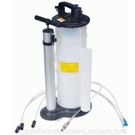 приспособление для откачки отработанного масла 9 л. пневмо/ручной (АвтоDело) 42055