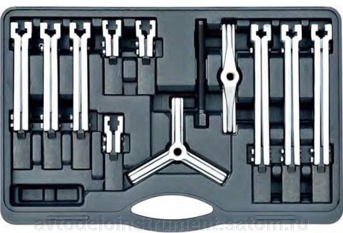 Съёмники подшипников - фото съемник 2-3-х лапый со сменными лапками 12 пр. АвтоDело 41700