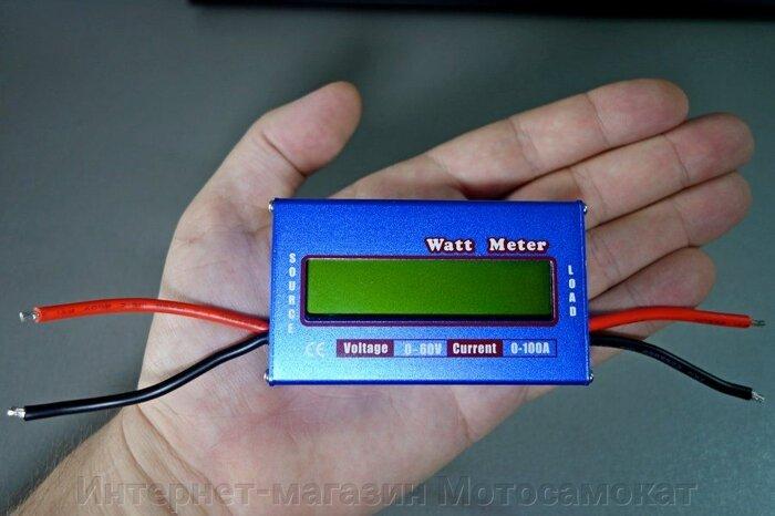 Анализатор мощности Watt Meter (ватт метр) 0-60 в, до 100 А