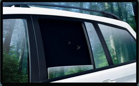 Сетки / шторки на стекла автомобиля - фото 7