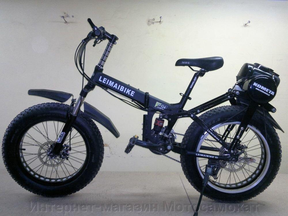 Складной Mini-Fat bike с колесами 20 дюймов и приводом на заднее колесо.