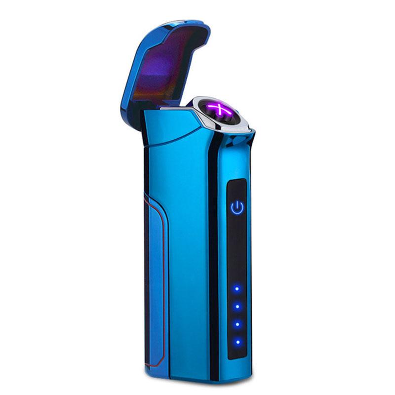 KCASA Плазменные электронные Датчик Электрический двойной дуги большой зажигалки 800mAh USB-зажигалка - фото 2