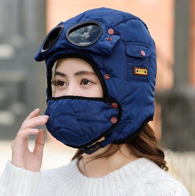 Многофункциональная защита от холода Маска Шапка Теплая шапка для велоспорта Маска с солнцезащитными очками - фото e61c58dc833eedfbe45e1b6d0958d4ab.jpg