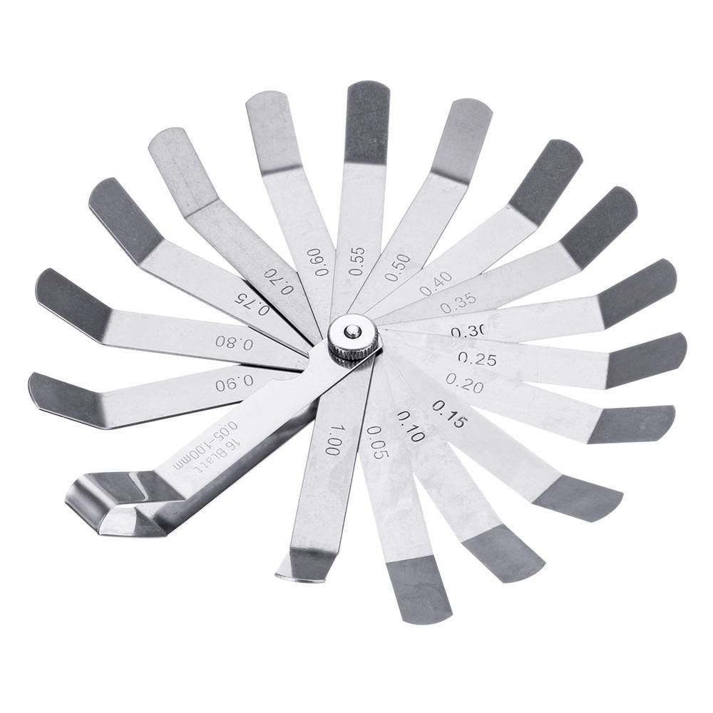 valve offset feeler gauge measuring tool