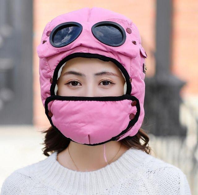 Многофункциональная защита от холода Маска Шапка Теплая шапка для велоспорта Маска с солнцезащитными очками - фото 18815c5004d87b2d02ab71a61fcee739.jpg