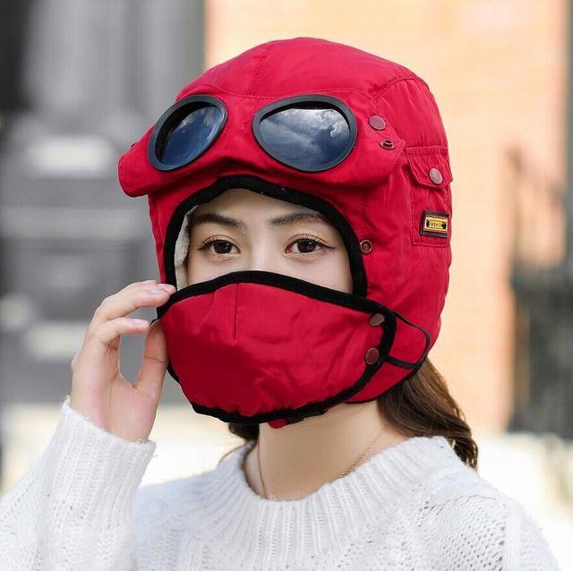 Многофункциональная защита от холода Маска Шапка Теплая шапка для велоспорта Маска с солнцезащитными очками - фото 208938c19d2f8ad2e5a4160b32d2c7cd.jpg