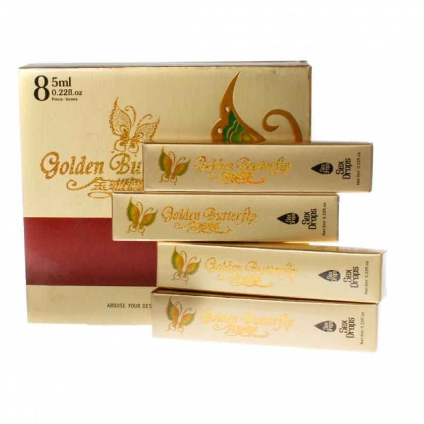 Купить женский возбудитель в каплях «Золотая бабочка» Golden Butterfly