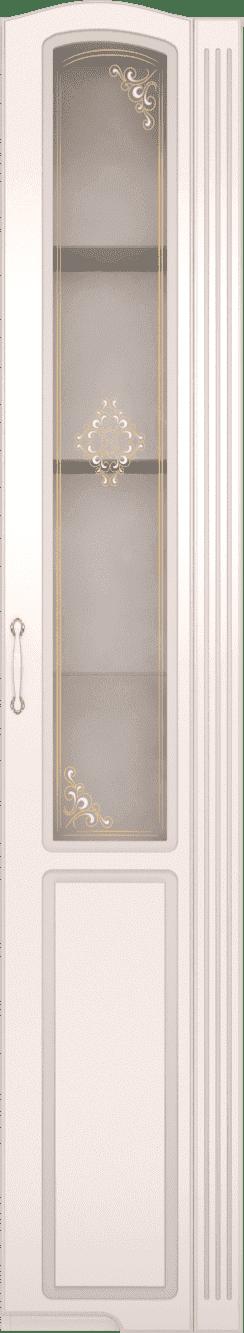 Гостиная Виктория (комплект 3) - фото 32 Шкаф-пенал правый со стеклом Виктория