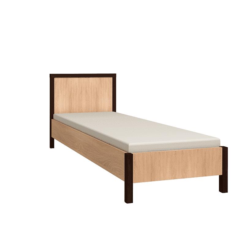 Спальня Баухаус BAUHAUS (комплект 1) - фото Кровать 90*200 (каркас) Bauhaus 5