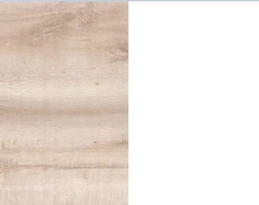 Дуб Сакраменто/Белый снег глянец