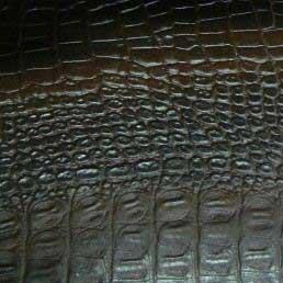 Угловой шкаф-купе Радиус - фото Крокодил (искусственная кожа)