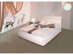 Кровать с мягким изголовьем Гретта