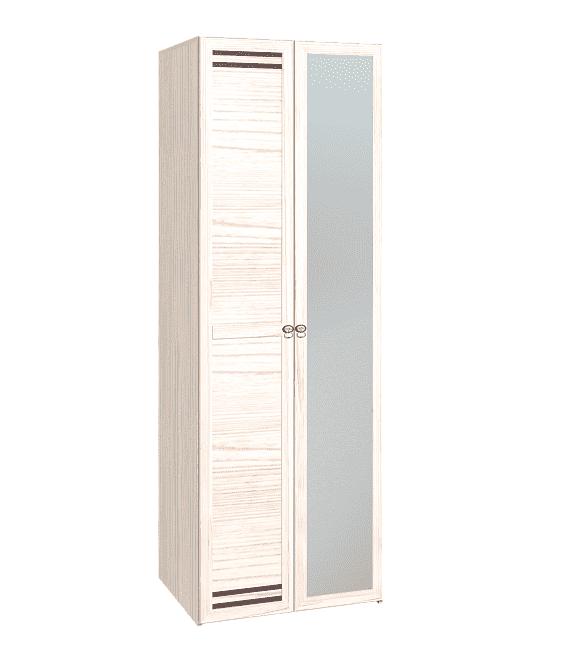 Шкаф для одежды, ФАСАД Зеркало+Стандарт, Бриз 54