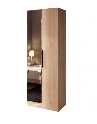 Спальня Баухаус BAUHAUS (комплект 1) - фото Шкаф для одежды + фасад Зеркало+фасад Стандарт Bauhaus 8