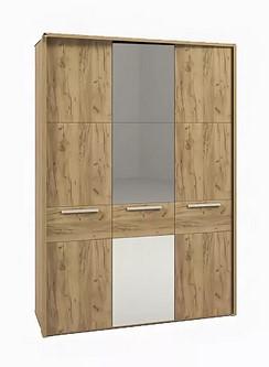 Спальня МК52 (комплект 3) - фото МК 52 модуль 223 (шкаф с зеркалом)