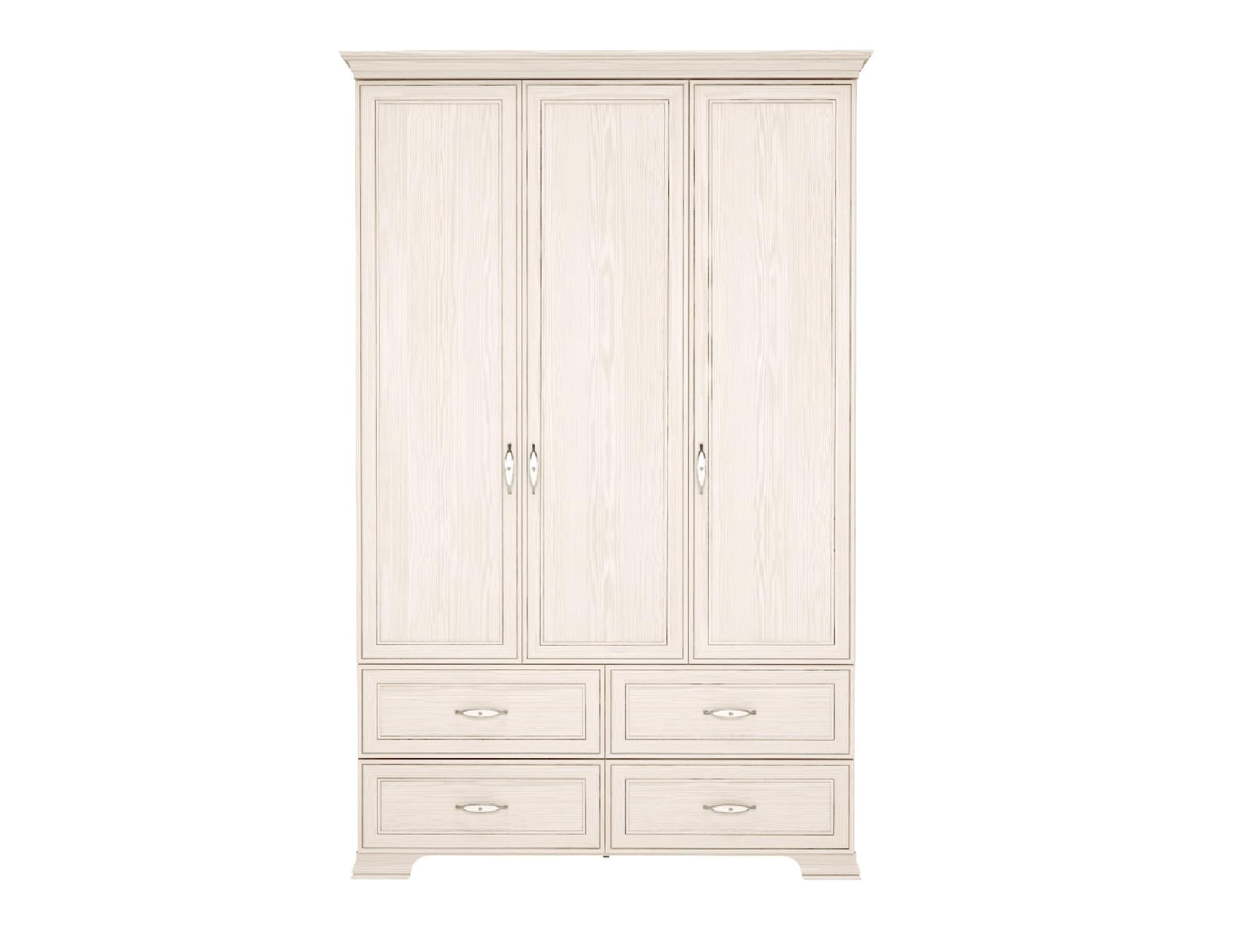 Шкаф для одежды 3-х дв. с ящиками Венеция 1 (без зеркала)