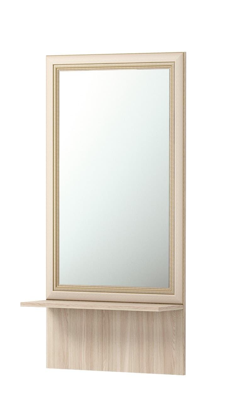 Зеркало настенное с полкой Брайтон 21
