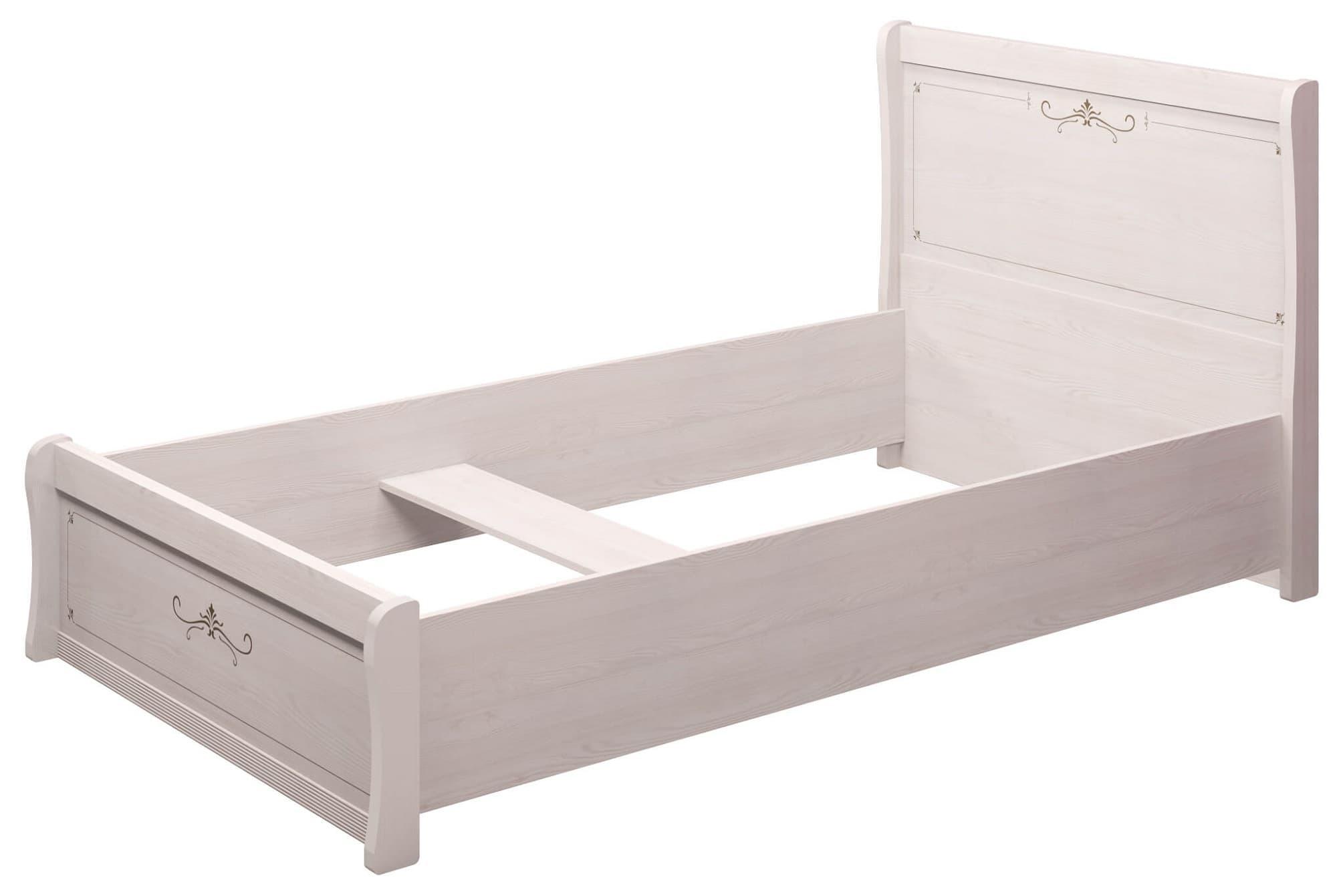 Кровать Афродита 26 двойная 120, без ортопеда, без матраса и без кованного элемента