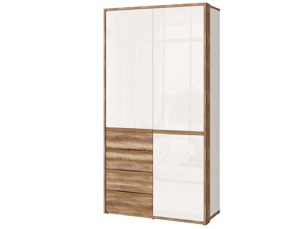 Шкаф для одежды с ящиками Николь-Люкс 08, правый