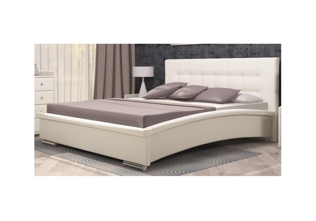 Кровать Луиза 03 140*200 + ортопед. основание 140 ножка 185 мм-5 шт, без матраса